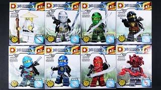 LEGO Ninjago Minifigures (bootleg / knock-off) DLP9048