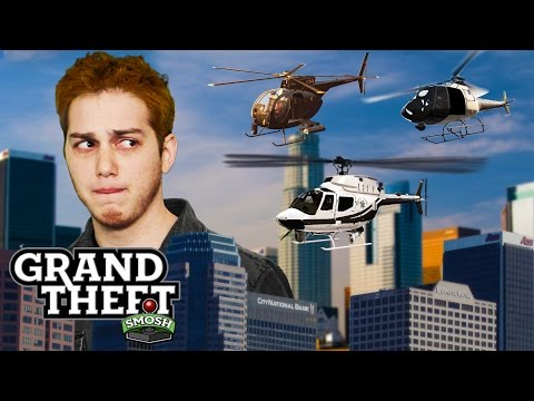 HELICOPTER DERBY (Grand Theft Smosh)
