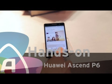 Huawei Ascend P6 hands-on/preview (Dutch)