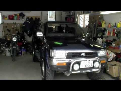 Toyota 4Runner Turbo Diesel Hilux Surf JDM RHD 3.0 L 1KZ-TE