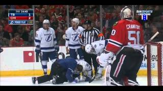 Tyler Johnson injury 11/11/14