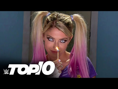 Alexa Blissв creepiest mind games WWE Top 10, Sept. 5, 2021