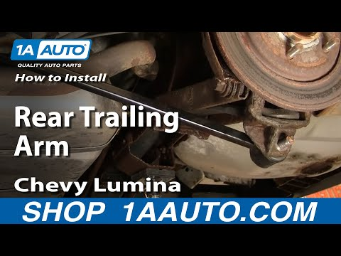How To Install Replace Rear Trailing Control Arm GM Front Drive 88-08 1AAuto.com