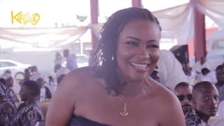 Ogogo, Saheed Balogun, Kemi Afolabi & Others Storms Yomi Fabiyis's Mother's Burial { Reception}