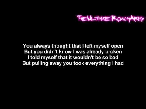 Three Days Grace  Lost In You Lyrics on screen HD