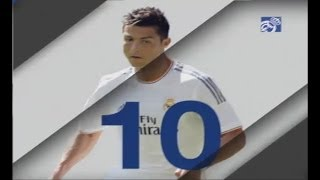 Cristiano Ronaldo - TOP 10 GOALS for Real Madrid | 2013/14 HD