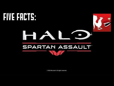 Five Facts - Halo: Spartan Assault