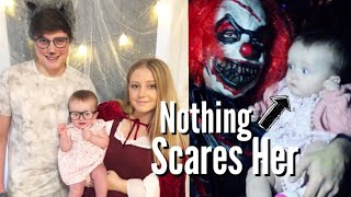 Baby's First Halloween! | Teen Mom Vlog