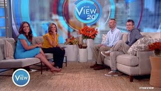 "DKMS Donor Meets His Patient on ""The View""!"
