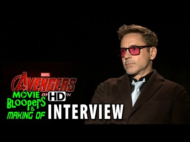 Avengers: Age of Ultron (2015) Official Movie Interview - Robert Downey Jr.