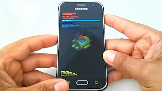 Como formatar o Samsung Galaxy J1 J2 J3 6 2016 J5 J7 com hard reset