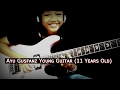 Walk with me in Hell by Lamb of God (Cover Ayu Gusfanz 11 Years Old) Indonesian guitarist