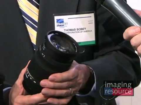 Imaging Resource PMA 2009 - Sigma Lenses