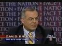 David Brooks On Moving Too Fast: GOP In Wilderness