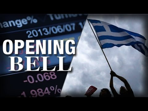 Greek Lawmakers Okay Austerity Measures, U.S. Stocks Open Flat
