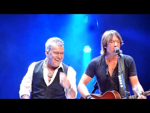 Keith Urban - Flame Tree - with Jimmy Barnes - Allphones Arena Sydney - 30 Jan 2013
