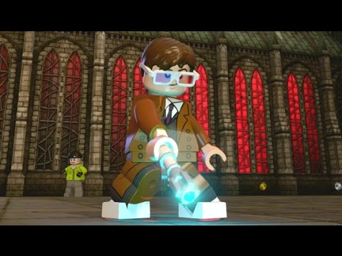 LEGO Dimensions - All 13 Doctor's Special Moves (Combat Showcase)