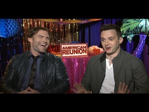 AMERICAN REUNION Interviews: Jason Biggs, Seann William Scott, Alyson Hannigan, Eugene Levy & more!