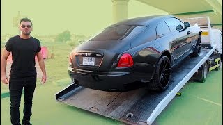 Taking Delivery of a Rolls Royce Wraith !!!