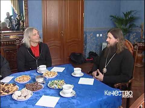 К.Кинчев в гостях у Сахалинской епархии, 3.5.2006
