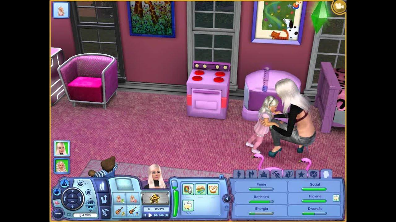 The sims 3 ensinando o beb a andar youtube for Sims 3 chambre bebe