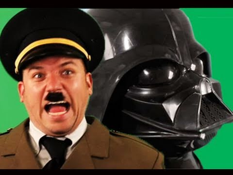 Darth Vader Vs Hitler.   Epic Rap Battles Of History 2 video
