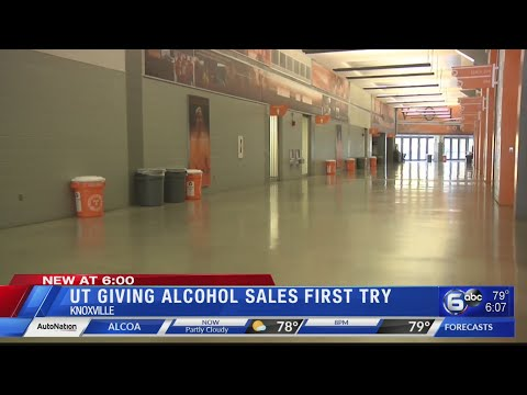 UT giving alcohol sales first try