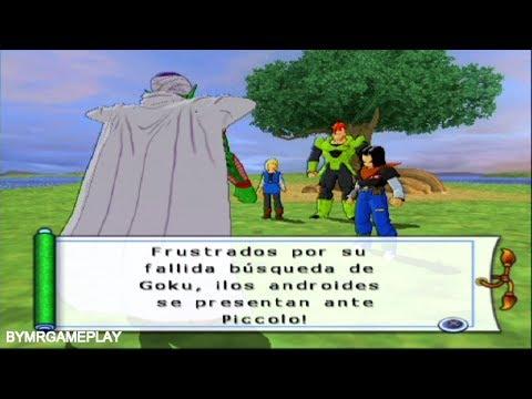 Dragon Ball Z: Budokai Tenkaichi 2 Latino Saga androide Piccolo vs 17 y la aparicion de cell #4