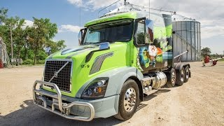 "Volvo Trucks - A custom Volvo VNL named Turbo Turtle - ""Welcome To My Cab"""