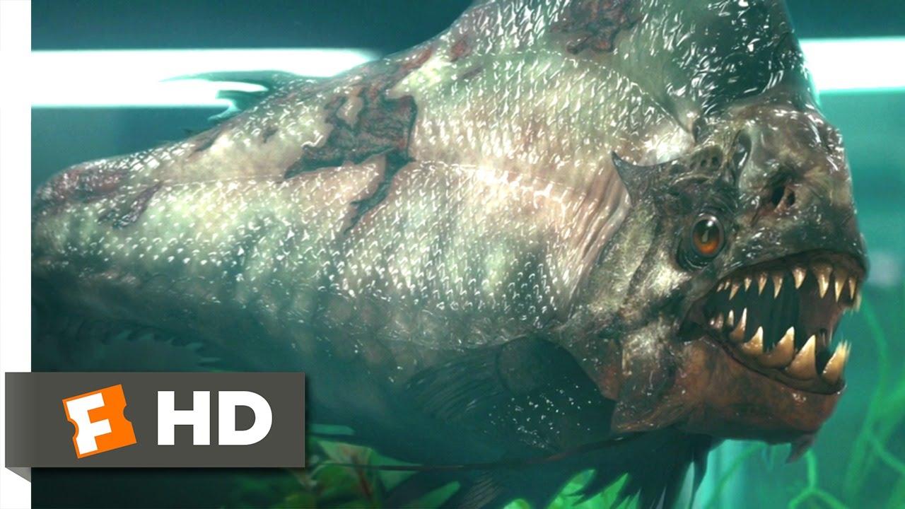 Piranha 3D (5/9) Movie CLIP - Pissed Piranha (2010) HD - YouTube