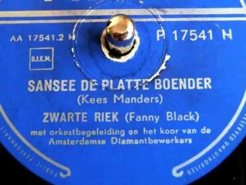 Sansee de platte boender - Zwarte Riek