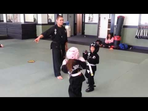 Lil Dragon Sparring Video (Woodland Kuk Sool Won) Image 1