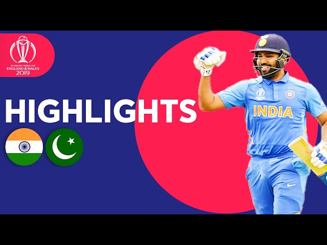 India v Pakistan - Match Highlights | ICC Cricket World Cup 2019 thumbnail