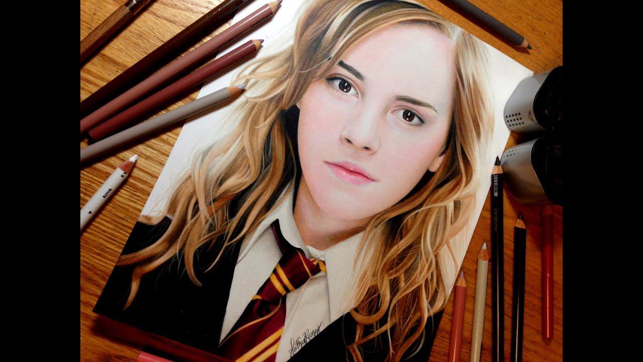 Comment dessiner Emma Watson / Hermione Granger