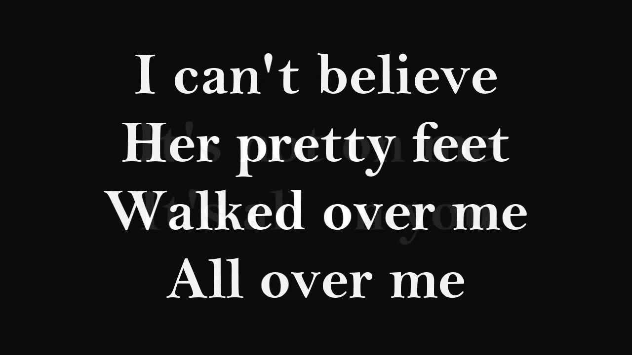 The All-American Rejects – Walk Over Me Lyrics - Genius