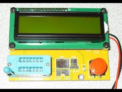 Прибор для проверки радиодеталей