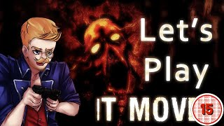 Let's Play IT MOVES Blind: (Episode 1) - SCARY SPIDER HORROR (Playthrough)