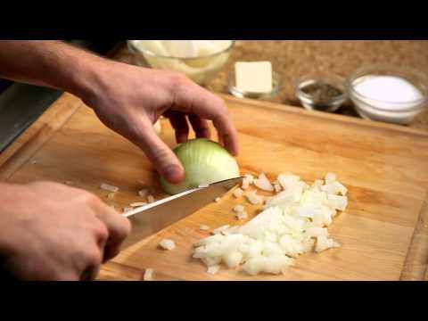 How to make a homemade burger – #2 – Chopping onions — Appetites®