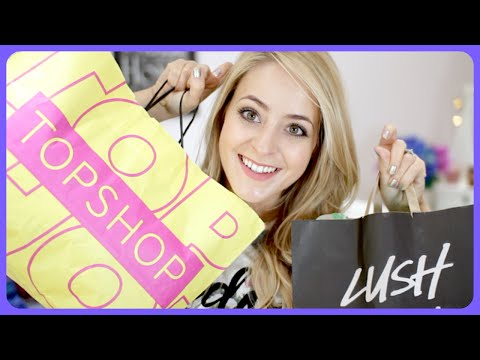 Topshop Try-On & Festive Lush HAUL!