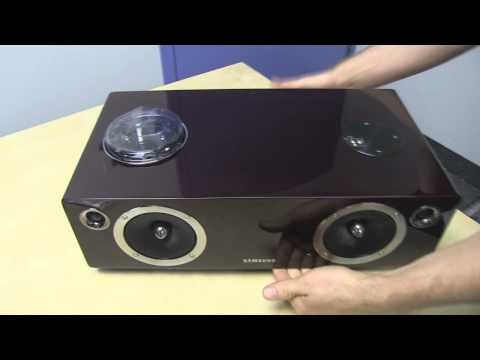 Samsung DA-E750 Wireless Speakers with Dock iPod iPhone Galaxy S2 S3 Unboxing & Test Linus Tech Tips