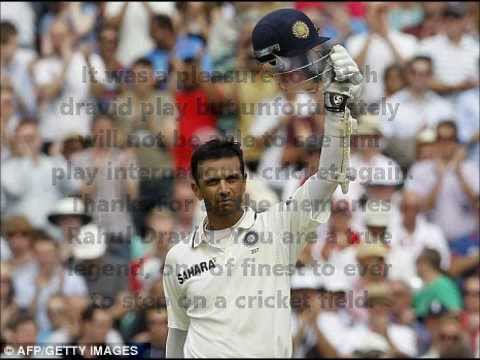A Tribute to Rahul Dravid- The Legendary Wall