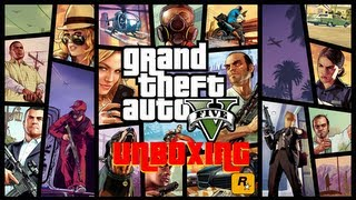 Unboxing: Grand Theft Auto V - XBOX 360