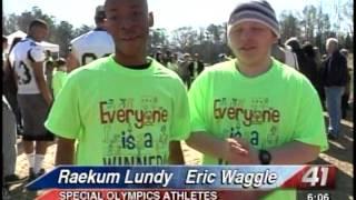41NBC/WMGT - Special Olympics - 3.08.13