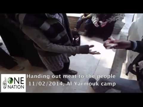 One Nation aid distribution in Yarmouk camp and Al Hajar al Aswad, Damascus (Syria)