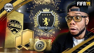 NAH! Two INSANE Pulls in  Elite 1 FUT Champs Rewards! | FIFA 19 Ultimate Team