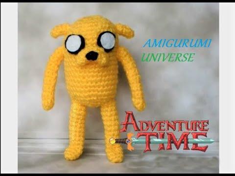 Amigurumi Universe : DIY Crochet Tutorial JAKE (Hora de Aventuras) Amigurumi ...