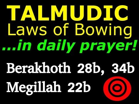 Jewish Prostration in Talmudic Law