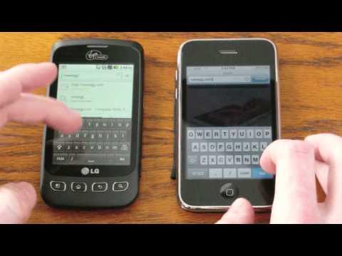 ATT vs Virgin Mobile (Sprint network) 3G Speed Comparison