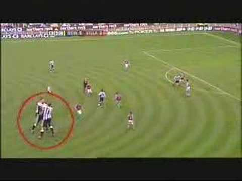 YouTube: Kieron Dyer and team-mate Lee Bowyer fight