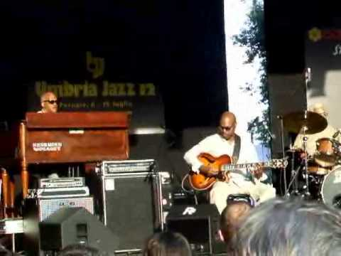 Bobby Broom Deep Blue Organ Trio - Umbria Jazz 2012